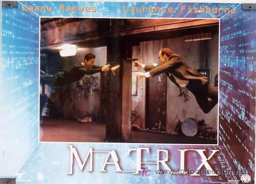 Cine: JX64 THE MATRIX KEANU REEVES SET DE 6 POSTERS ITALIANO 47X68 - Foto 4 - 15502584