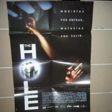 Cine: THE HOLE TERROR POSTER ORIGINAL 70X100 ESTRENO. Lote 15556376
