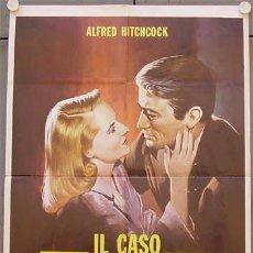 Cine: JY26 EL PROCESO PARADINE ALFRED HITCHCOCK GREGORY PECK ALIDA VALLI POSTER ORIGINAL ITALIANO 68X94. Lote 15557470