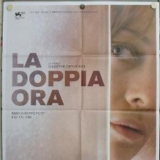 Cine: JY84 LA DOPPIA ORA / THE DOUBLE HOUR GIALLO POSTER ORIGINAL ITALIANO 100X140. Lote 15577619