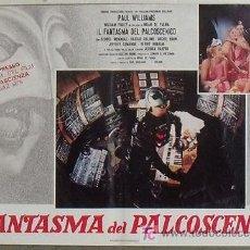 Cine: VR45D EL FANTASMA DEL PARAISO BRIAN DE PALMA SET 8 POSTERS ORIGINAL ITALIANO 47X68. Lote 15579024