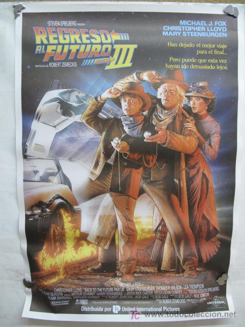 REGRESO AL FUTURO III (Cine - Posters y Carteles - Aventura)