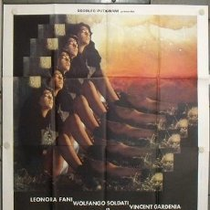 Cine: QQ39 DIABLA PATRICIA ADRIANI TERROR SEXY POSTER ORIGINAL 140X200 ITALIANO. Lote 15594365