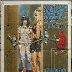 Cine: JZ85 THE VIRGINS / LES VIERGES STEFANIA SANDRELLI CHARLES AZNAVOUR POSTER ORIGINAL 100X140 ITALIANO. Lote 15606478