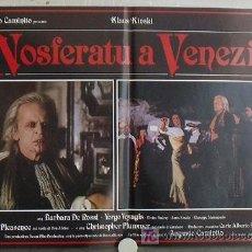 Cine: YE95D NOSFERATU EN VENECIA KLAUS KINSKI SET DE 6 POSTER ORIGINAL ITALIANO 47X68. Lote 15609486