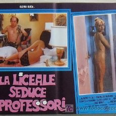 Cine: VG01D LA COLEGIALA SEDUCE A LOS PROFESORES GLORIA GUIDA SEXY DESNUDA POSTER ORIGINAL ITALIANO 47X68. Lote 15621335