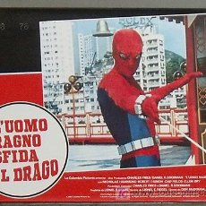 Cine: KA35 SPIDERMAN EL DESAFIO DEL DRAGON MARVEL SET 8 POSTERS ORIGINAL ITALIANO 33X46. Lote 15623592