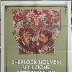 Cine: KA70 ELEMENTAL DOCTOR FREUD SHERLOCK HOLMES NICOL WILLIAMSON POSTER ORIGINAL 100X140 ITALIANO. Lote 15625800