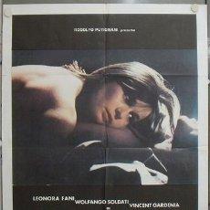 Cine: KA72 DIABLA LEONORA FANI PATRICIA ADRIANI TERROR SEXY POSTER ORIGINAL 100X140 ITALIANO. Lote 15626007