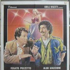 Cine: QO98 INFARTO PARA UN DON JUAN GLORIA GUIDA SEXY POSTER ORIGINAL 100X140 ITALIANO. Lote 15626076