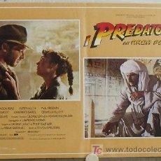 Cine: KB09 EN BUSCA DEL ARCA PERDIDA HARRISON FORD SPIELBERG SET DE 4 POSTERS ORIGINAL ITALIANO 47X68. Lote 15628274
