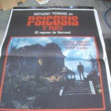 Cine: ANTHONY PERKINS EN PSICOSIS SEGUNDA PARTE POSTER ORIGINAL DE CINE 70X100CM. Lote 99758178