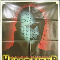 Cine: SO98 HELLRAISER 4 BLOODLINE POSTER ORIGINAL 100X140 ITALIANO. Lote 15642327