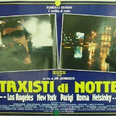 Cine: YG09D NOCHE EN LA TIERRA NIGHT ON EARTH JIM JARMUSCH TAXI SET 6 POSTERS ORIGINAL ITALIANO 47X68. Lote 15643038