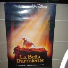 Cine: LA BELLA DURMIENTE DISNEY POSTER ORIGINAL 70X100. Lote 58506692