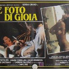Cine: WQ61D DELIRIUM LAMBERTO BAVA SERENA GRANDI SEXY GIALLO SET 8 POSTER ORIGINAL ITALIANO 47X68. Lote 19490702