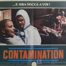 Cine: XD50D CONTAMINACION ALIEN INVADE LA TIERRA LEWIS COATES SET 6 POSTER ORIGINAL ITALIANO 47X68. Lote 22601750