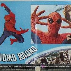 Cine: QB22D SPIDERMAN SPIDER-MAN EL HOMBRE ARAÑA MARVEL COMIC SUPERHEROE SET 10 POSTER ORIG ITALIANO 47X68. Lote 15734414