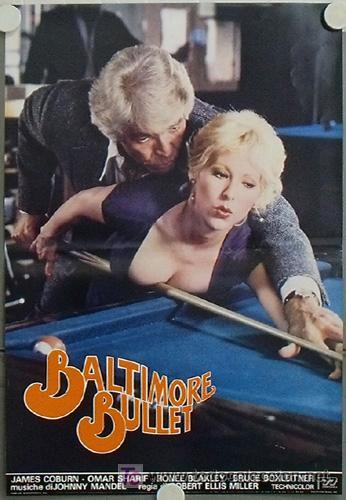 Cine: KB48 BALTIMORE BULLET JAMES COBURN BILLAR SET 10 POSTER ORIGINAL ITALIANO 47X68 - Foto 2 - 15729660