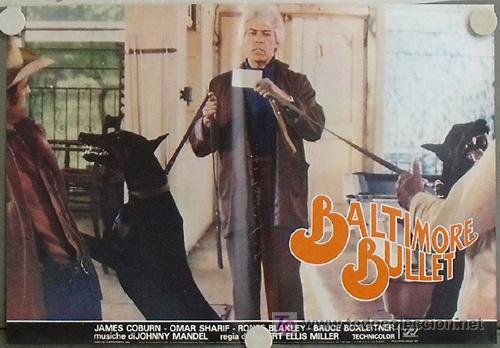 Cine: KB48 BALTIMORE BULLET JAMES COBURN BILLAR SET 10 POSTER ORIGINAL ITALIANO 47X68 - Foto 5 - 15729660