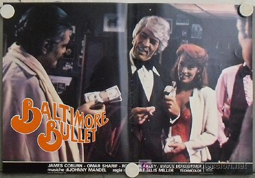 Cine: KB48 BALTIMORE BULLET JAMES COBURN BILLAR SET 10 POSTER ORIGINAL ITALIANO 47X68 - Foto 8 - 15729660
