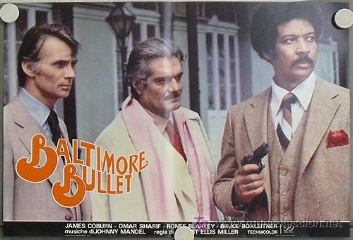 Cine: KB48 BALTIMORE BULLET JAMES COBURN BILLAR SET 10 POSTER ORIGINAL ITALIANO 47X68 - Foto 7 - 15729660