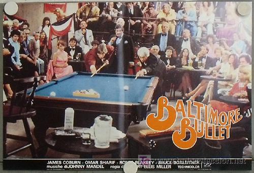 Cine: KB48 BALTIMORE BULLET JAMES COBURN BILLAR SET 10 POSTER ORIGINAL ITALIANO 47X68 - Foto 4 - 15729660