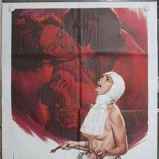 Cine: WQ49D SATANICO PANDEMONIUM SEXORCISTA TERROR MEJICANO POSTER ORIGINAL ITALIANO 100X140. Lote 253701860
