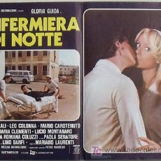 Cine: VG48D ENFERMERA PARA TODO GLORIA GUIDA SEXY POSTER ORIGINAL ITALIANO 47X68. Lote 15753025