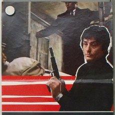 Cinema: XG95 EL SILENCIO DE UN HOMBRE LE SAMOURAI ALAIN DELON MELVILLE POSTER ORIGINAL ITALIANO 47X68. Lote 15850721