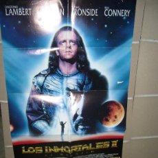 Cine: LOS INMORTALES 2 EL DESAFIO POSTER ORIGINAL 70X100 . Lote 15765110