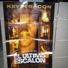 Cine: EL ULTIMO ESCALON KEVIN BACON TERROR POSTER ORIGINAL 70X100 Q. Lote 15872588