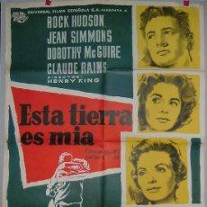 Cine: ESTA TIERRA ES MIA. Lote 16012064