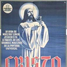 Cine: KH47 CRISTO CIFESA DOCUMENTAL CINE RELIGIOSO POSTER ORIGINAL 70X100 ESTRENO LITOGRAFIA. Lote 17721930