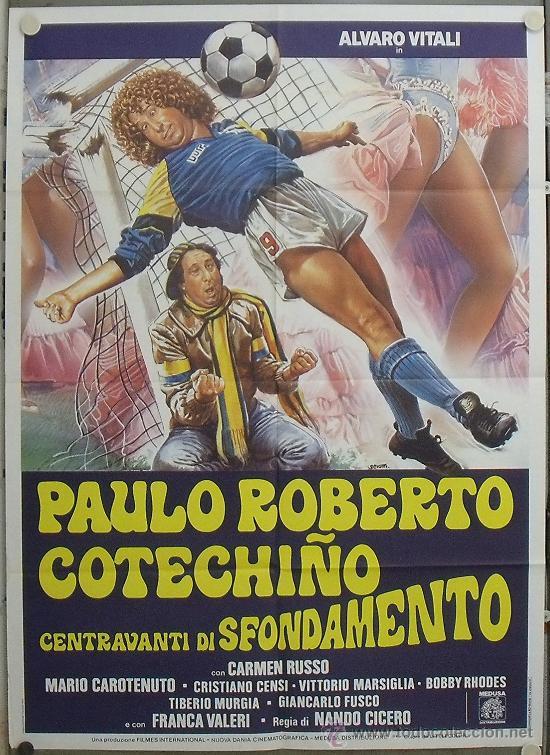 Cine: GG86 COLECCION FUTBOL 20 POSTERS ORIGINALES ITALIANOS 100X140 - Foto 11 - 20414007