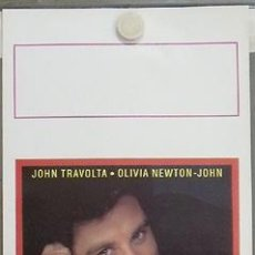 Cine: QS09 TAL PARA CUAL OLIVIA NEWTON-JOHN JOHN TRAVOLTA POSTER ORIGINAL ITALIANO 33X70. Lote 16098449