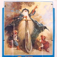 Cine: QA28 EL SEÑOR DE LOS ANILLOS THE LORD OF THE RINGS RALPH BAKSHI POSTER ORIGINAL ITALIANO 140X200. Lote 38880373