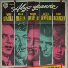 Cine: LA CUADRILLA DE LOS 11 SINATRA ---MARTIN--- DAVIS --- LAWFORD ----DICKINSON. Lote 16165788