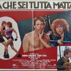 Cine: KK78 COMBATE DE FONDO BARBRA STREISAND BOXEO SET 6 POSTERS ORIGINAL ITALIANOS 47X68. Lote 16212958