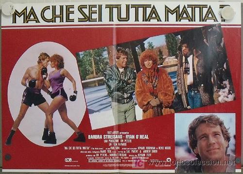 Cine: KK78 COMBATE DE FONDO BARBRA STREISAND BOXEO SET 6 POSTERS ORIGINAL ITALIANOS 47X68 - Foto 5 - 16212958