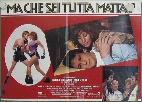 Cine: KK78 COMBATE DE FONDO BARBRA STREISAND BOXEO SET 6 POSTERS ORIGINAL ITALIANOS 47X68 - Foto 6 - 16212958