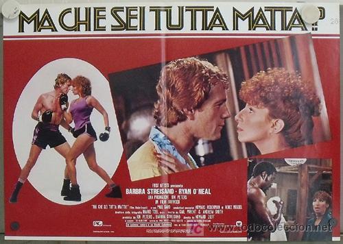 Cine: KK78 COMBATE DE FONDO BARBRA STREISAND BOXEO SET 6 POSTERS ORIGINAL ITALIANOS 47X68 - Foto 4 - 16212958