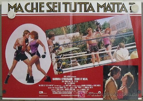 Cine: KK78 COMBATE DE FONDO BARBRA STREISAND BOXEO SET 6 POSTERS ORIGINAL ITALIANOS 47X68 - Foto 3 - 16212958