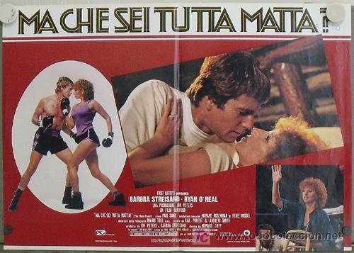 Cine: KK78 COMBATE DE FONDO BARBRA STREISAND BOXEO SET 6 POSTERS ORIGINAL ITALIANOS 47X68 - Foto 2 - 16212958