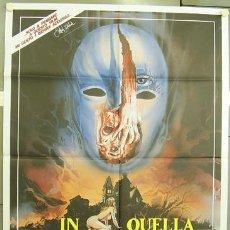 Cine: KL99 BUIO OMEGA DEMENCIA JOE D'AMATO POSTER ORIGINAL ITALIANO 100X140. Lote 16279792