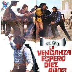Cine: LA VENGANZA ESPERÓ DIEZ AÑOS. CARTEL (100X70 CM.) CIRE FILMS. . Lote 16368975
