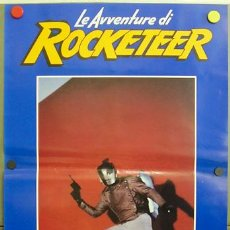 Cine: YF09D ROCKETEER JENNIFER CONNELLY COMIC SET DE 6 POSTERS ORIGINAL ITALIANO 47X68. Lote 20004906