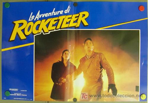 Cine: YF09D ROCKETEER JENNIFER CONNELLY COMIC SET de 6 POSTERS ORIGINAL ITALIANO 47X68 - Foto 3 - 20004906