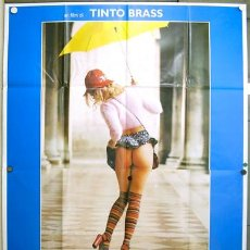 Cine: QQ40 TRASGREDIRE TINTO BRASS SEXY LESBIAN POSTER ORIGINAL ITALIANO 140X200. Lote 16330643