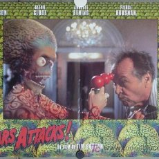 Cine: XP44D MARS ATTACKS TIM BURTON SET 6 POSTERS ORIGINAL ITALIANO 47X68. Lote 16345231